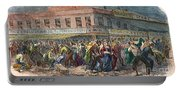 New York: Draft Riots 1863 Portable Battery Charger