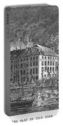 New York: Fire Of 1835 Portable Battery Charger