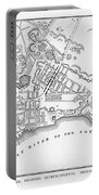 New York: Maps Portable Battery Charger