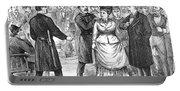 New York Police Raid, 1875 Portable Battery Charger