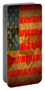 News Media Stars Stripes Portable Battery Charger