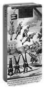 Newton: Cartoon, 1763 Portable Battery Charger