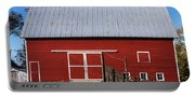 Nice Red Barn Portable Battery Charger