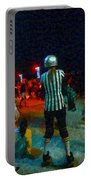 Night At The Roller Derby Portable Battery Charger