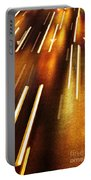 Night Traffic Portable Battery Charger by Carlos Caetano