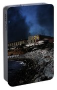 Nightfall Over Hard Time - San Quentin California State Prison - 5d18454 Portable Battery Charger