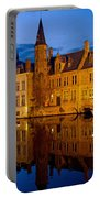 Nighttime Brugge Portable Battery Charger