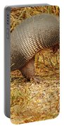 Nine-banded Armadillo Raised Portable Battery Charger