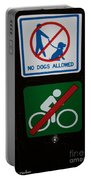 No Fun Allowed Portable Battery Charger