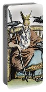 Norse God Odin (woden) Portable Battery Charger