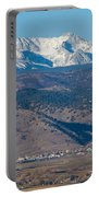 North Boulder Colorado Front Range View Portable Battery Charger