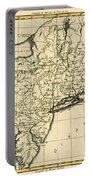 Northeast Coast Of America Portable Battery Charger