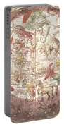 Northern Boreal Hemisphere From The Celestial Atlas Portable Battery Charger by Pieter Schenk