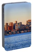 Northwest Jewel - Seattle Skyline Cityscape Portable Battery Charger