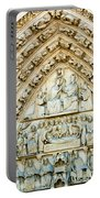 Notre Dame Cathedral Center Entry Portable Battery Charger
