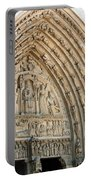 Notre Dame Cathedral Right Entry Door Portable Battery Charger