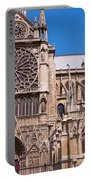 Notre Dame Cathedral Rose Window Portable Battery Charger