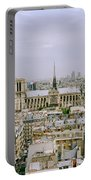 Notre Dame In Paris Portable Battery Charger