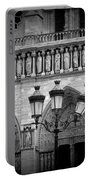 Notre Dame With Luminaires Portable Battery Charger