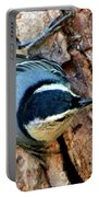 Nuthatch Heading Down Portable Battery Charger