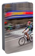 Nyc Bike Tour Portable Battery Charger