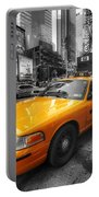 Nyc Yellow Cab Portable Battery Charger