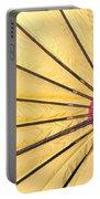 Nylon Sun Rays Portable Battery Charger