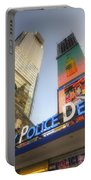 Nypd Station Portable Battery Charger by Yhun Suarez
