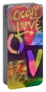 Occupy Love Open Heart Portable Battery Charger