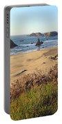 Bandon Oregon Shorelines Portable Battery Charger