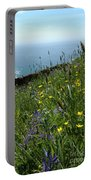 Ocean Wildflowers Portable Battery Charger