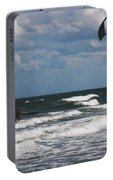 October Beach Kite Surfer Portable Battery Charger