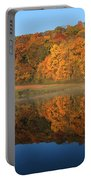 October Scene Portable Battery Charger