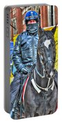 Officer And Black Horse Portable Battery Charger