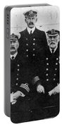 Officers Of The Titanic, 1912 Portable Battery Charger