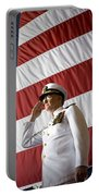 Officers Render Honors During A Change Portable Battery Charger