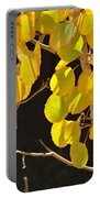 Oh Those Golden Leaves Portable Battery Charger
