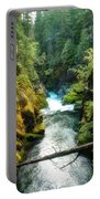 Ohanapecosh River On Mount Rainier Portable Battery Charger