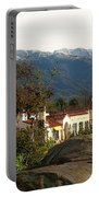 Ojai With Snow Portable Battery Charger
