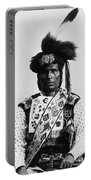 Ojibwa Man, 1894 Portable Battery Charger