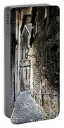 old alley in Italy Portable Battery Charger