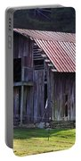 Old Barn In Etowah Portable Battery Charger
