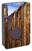 Old Building Bodie Ghost Town Portable Battery Charger
