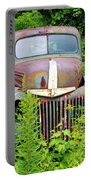 Old Car Grave Yard Portable Battery Charger