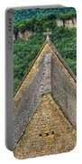 Old Church View Dordogne France Portable Battery Charger