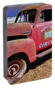 Old Circus Truck Portable Battery Charger