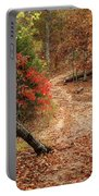 Old Country Road In Shannon County Portable Battery Charger