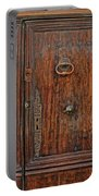 Old Door Study Provence France Portable Battery Charger
