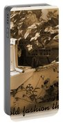 Old Fashion Thank You Card Portable Battery Charger
