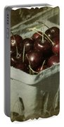 Old Fashioned Cherries Portable Battery Charger